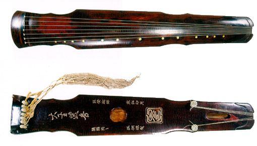 灵机式古琴