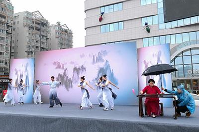 郫都区全民艺术活动月在悠扬琴韵中正式启动