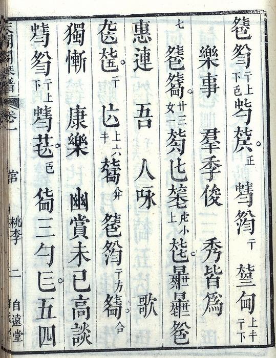 桃李园序琴谱